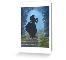 """""""Draw Me And I Will Run""""  by Carter L. Shepard Greeting Card"""
