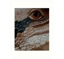 Eastern Water Dragon Art Print