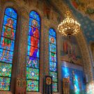 Northern Apse Stained Glass by Adam Bykowski