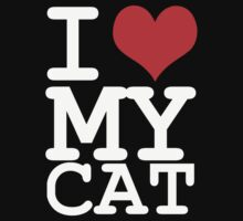 I love my cat by WAMTEES