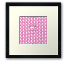 Girls' Generation 'SNSD' Pink Bolt Framed Print