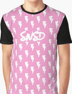Girls' Generation 'SNSD' Pink Bolt Graphic T-Shirt