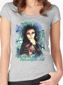 Bioshock Infinite Elizabeth Women's Fitted Scoop T-Shirt