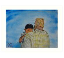 """Father Me""  by Carter L. Shepard Art Print"