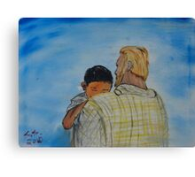 """""""Father Me""""  by Carter L. Shepard Canvas Print"""