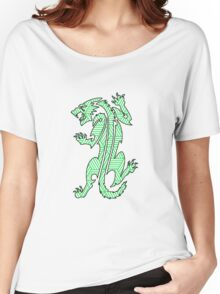 Tiger Strikes Green  Women's Relaxed Fit T-Shirt