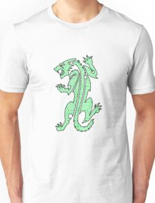 Tiger Strikes Green  Unisex T-Shirt