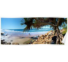 A Day at Coolum Poster