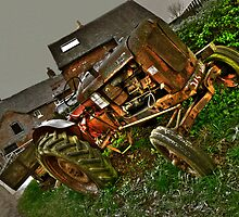 Tone mapped version of a Nuffield A60 Tractor by rolandkeates