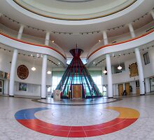 First Nations University Of Canada Interior by Bob Christopher