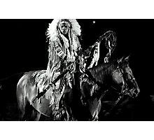Horseback Danger Photographic Print