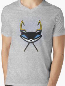 Cooper Cross Canes Mens V-Neck T-Shirt