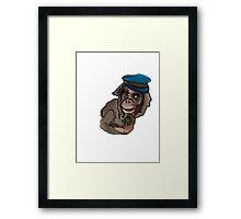 Monkey Wars Framed Print