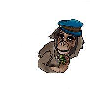 Monkey Wars Photographic Print