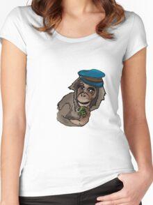 Monkey Wars Women's Fitted Scoop T-Shirt
