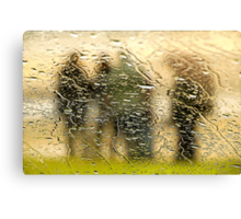 Turning Wet Again Canvas Print