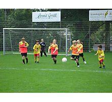 football Photographic Print