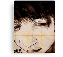 see my face Canvas Print