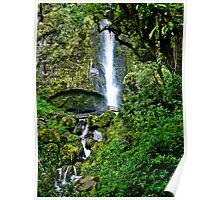 El Chorro Waterfalls of Giron II Poster