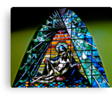 Stained Beauty In Giron Canvas Print