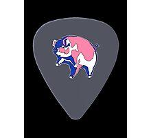 Pink Floyd Guitar Pick Photographic Print