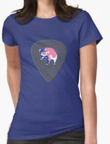 Pink Floyd Guitar Pick Womens Fitted T-Shirt