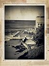 the seaside ~ a nostalgic study III by Adriana Glackin