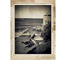 the seaside ~ a nostalgic study III Photographic Print