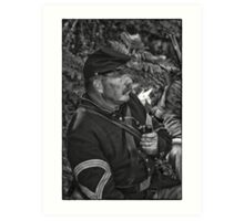 The Sergeant Major Art Print