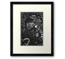 The Sergeant Major Framed Print