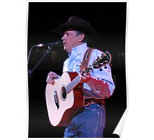 Mr. George Strait in Knoxville, Tennessee, 2007 Poster