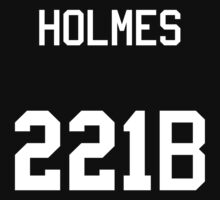 Sherlock Holmes jersey (v2) One Piece - Long Sleeve