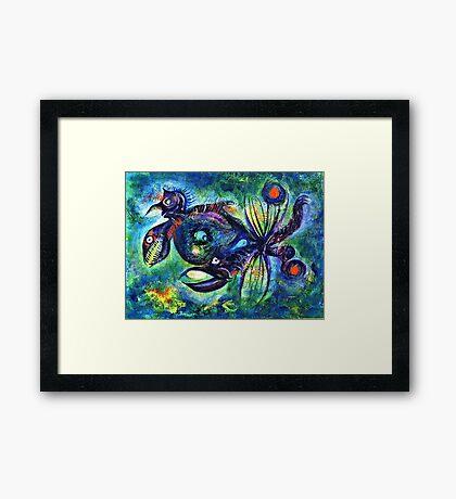 Crablike Creature Framed Print