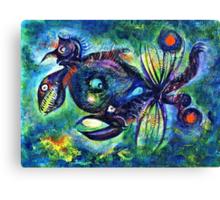 Crablike Creature Canvas Print