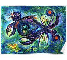 Crablike Creature Poster