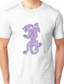 Tiger Strikes Purple  Unisex T-Shirt