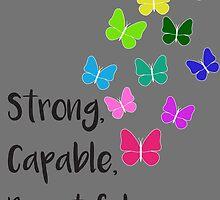 Strong, Capable, Beautiful by HannahJill12