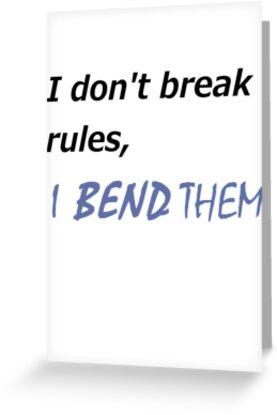 I DON'T BREAK RULES KORRA SHIRT by avatarem
