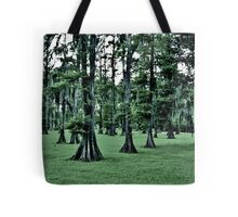 Dark Cypress Tote Bag