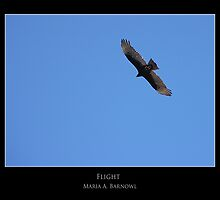 Flight - - Posters & More by Maria A. Barnowl