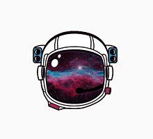 Outer Space Galaxy Astronaut Helmet Unisex T-Shirt