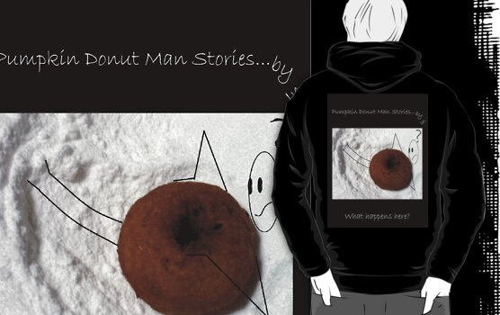 Pumpkin Donut Man Stories by IN Episode ¨What happens here?¨ by INma Gallego Gómez - Pastrana