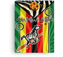 Zimbabwe Zebras Quidditch Team Canvas Print