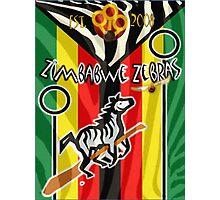 Zimbabwe Zebras Quidditch Team Photographic Print