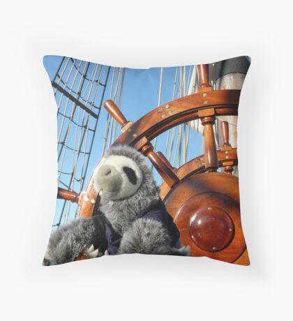 Epic Sloth Throw Pillow