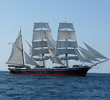 Star of India at Sea by Katherine Pogue
