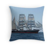 Star of India at Sea Throw Pillow