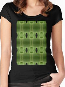 Digital nature Women's Fitted Scoop T-Shirt