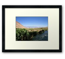 Open Fields Framed Print