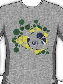 Brazil Flag Circles T-Shirt